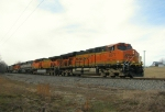 Northbound KCS Empty Coal Train
